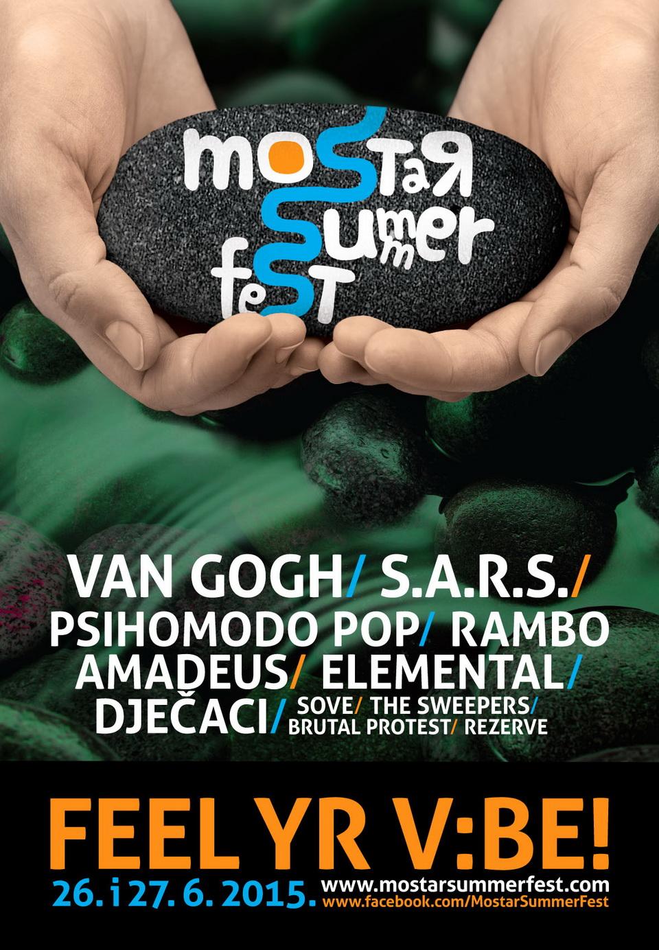Mostar Summer Fest 2015 line up